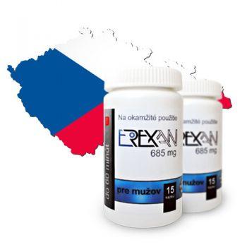 Správa – Erexan kúpite už aj v Českej Republike