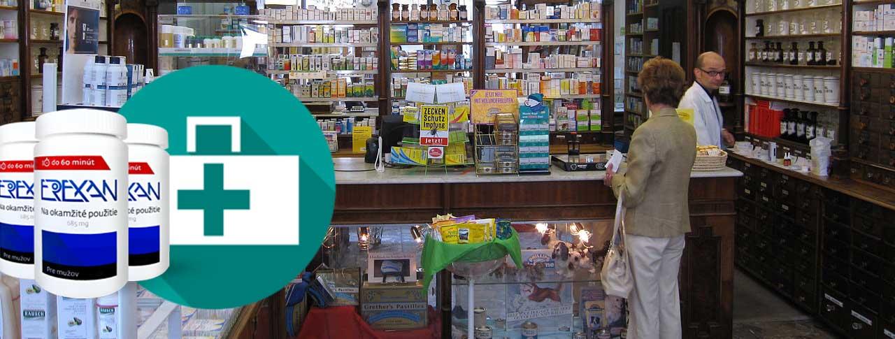 Erexan v lekárni – vieme kde ho kúpite