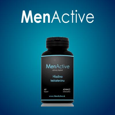 MENACTIVE - Zlepšenie libida a potencie